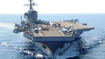 Vojnová loď USS George Washington má vyhradený priestor pre vaperov